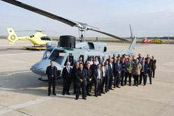 entrega a la armada los primeros helicopteros ab212