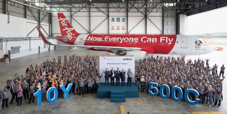 sae sepang aircraft engineering hangar airbus malasia